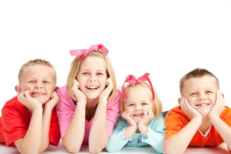 selbstbewusste Kinder