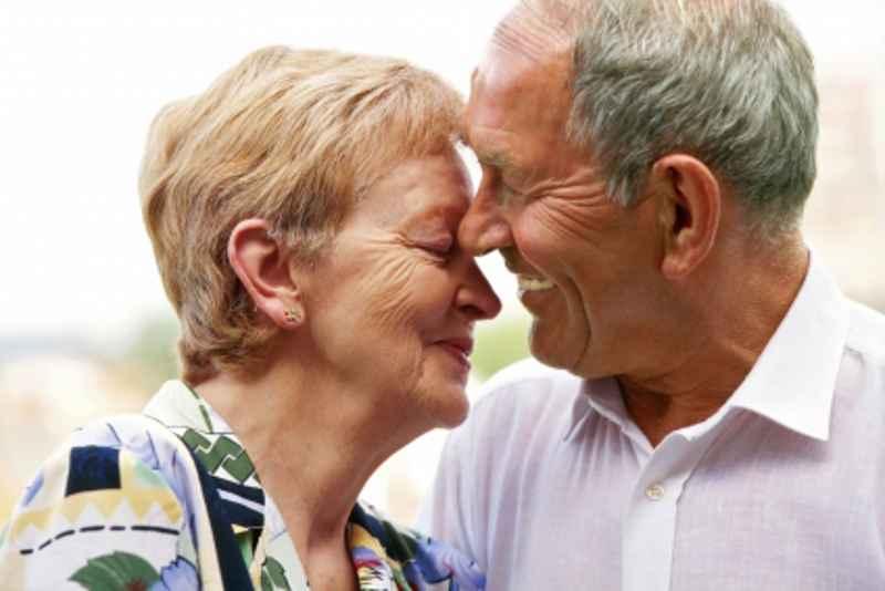 Ehepaar nach überstandener Krankheit